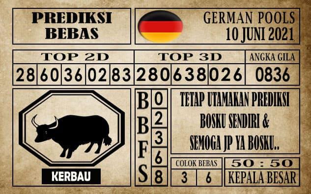 Prediksi Germany Hari Ini 10 Juni 2021