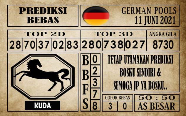 Prediksi Germany Hari Ini 11 Juni 2021
