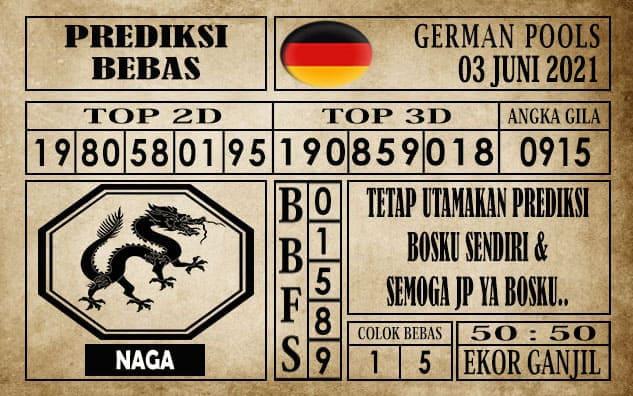 Prediksi Germany Hari Ini 03 Juni 2021
