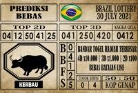 Prediksi Brazil Lottery Hari Ini 30 Juli 2021