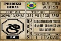 Prediksi Brazil Lottery Hari Ini 20 Juli 2021
