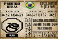 Prediksi Brazil Lottery Hari Ini 24 Juli 2021