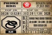 Prediksi Hongkong Siang Hari Ini 27 Juli 2021