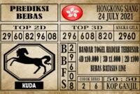 Prediksi Hongkong Siang Hari Ini 24 Juli 2021