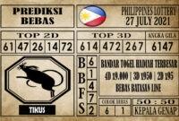 Prediksi Filipina PCSO Hari Ini 27 Juli 2021