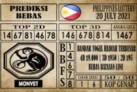 Prediksi Filipina PCSO Hari Ini 20 Juli 2021