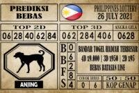 Prediksi Filipina PCSO Hari Ini 26 Juli 2021