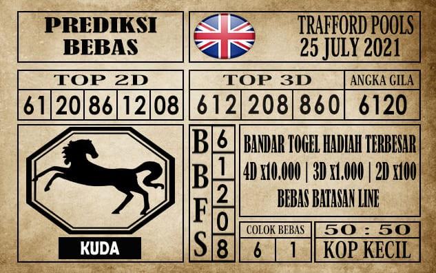 Prediksi Trafford Pools Hari Ini 25 Juli 2021