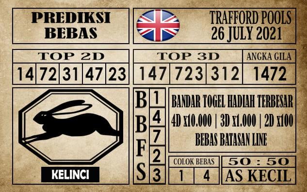 Prediksi Trafford Pools Hari Ini 26 Juli 2021