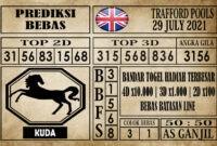 Prediksi Trafford Pools Hari Ini 29 Juli 2021