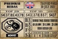 Prediksi Trafford Pools Hari Ini 30 Juli 2021