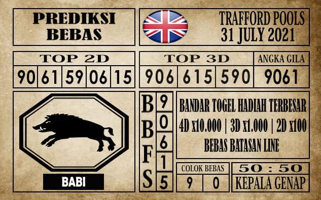Prediksi Trafford Pools Hari Ini 31 Juli 2021