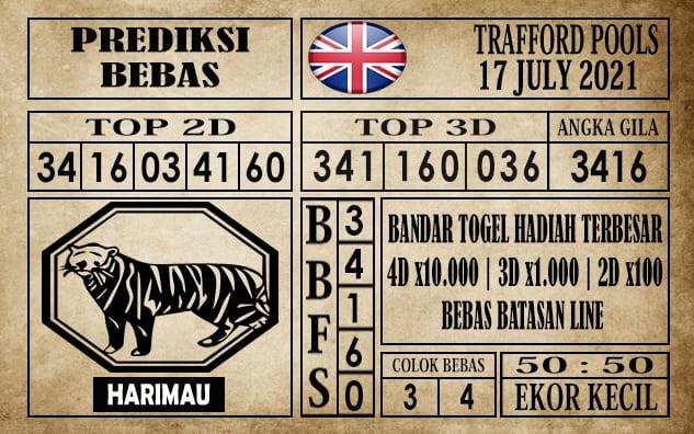 Prediksi Trafford Pools Hari Ini 17 Juli 2021