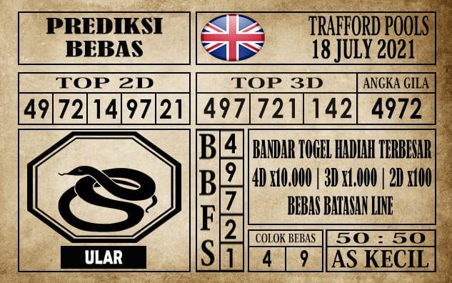 Prediksi Trafford Pools Hari Ini 18 Juli 2021