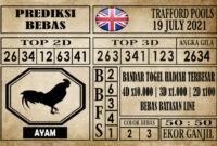 Prediksi Trafford Pools Hari Ini 19 Juli 2021