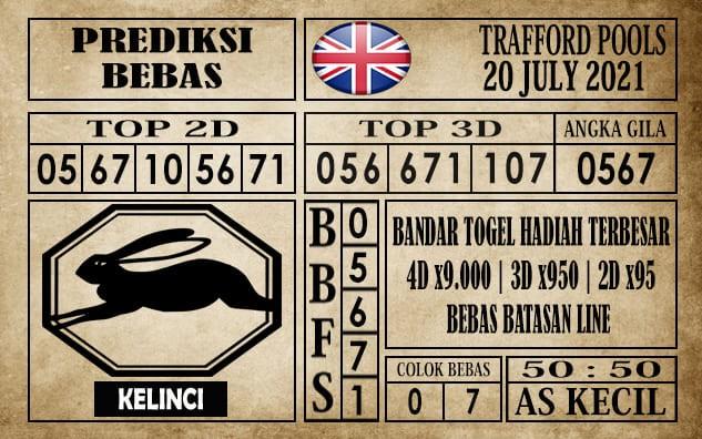 Prediksi Trafford Pools Hari Ini 20 Juli 2021