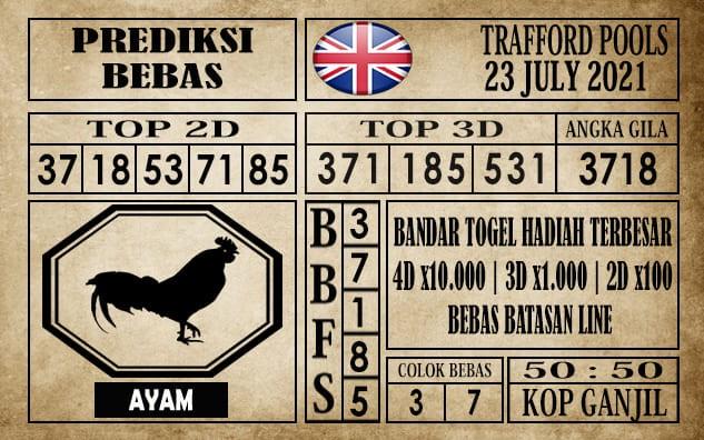 Prediksi Trafford Pools Hari Ini 23 Juli 2021
