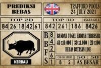 Prediksi Trafford Pools Hari Ini 24 Juli 2021