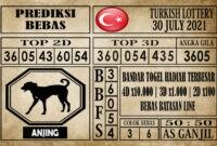 Prediksi Turkish Lottery Hari Ini 30 Juli 2021