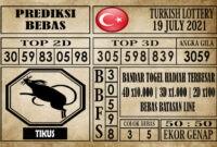 Prediksi Turkish Lottery Hari Ini 19 Juli 2021