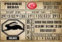 Prediksi Turkish Lottery Hari Ini 20 Juli 2021