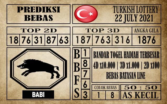 Prediksi Turkish Lottery Hari Ini 22 Juli 2021
