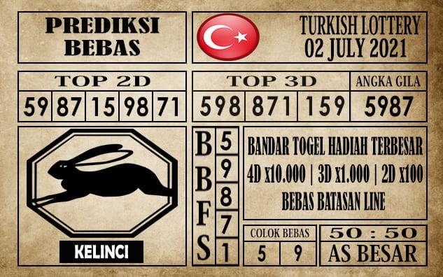 Prediksi Turkish Lottery Hari Ini 02 Juli 2021