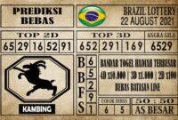 Prediksi Brazil Lottery Hari Ini 22 Agustus 2021
