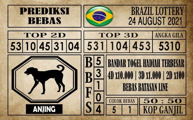 Prediksi Brazil Lottery Hari Ini 24 Agustus 2021