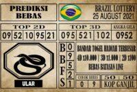 Prediksi Brazil Lottery Hari Ini 25 Agustus 2021