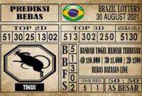 Prediksi Brazil Lottery Hari Ini 30 Agustus 2021