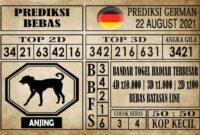 Prediksi Germany Hari Ini 22 Agustus 2021