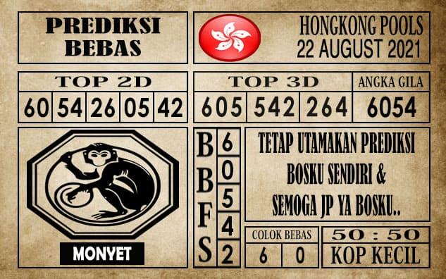 Prediksi Hongkong Pools Hari Ini 22 Agustus 2021