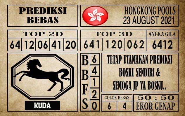 Prediksi Hongkong Pools Hari Ini 23 Agustus 2021
