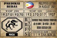Prediksi Filipina PCSO Hari Ini 24 Agustus 2021