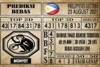 Prediksi Filipina PCSO Hari Ini 23 Agustus 2021