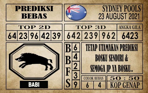 Prediksi Sydney Pools Hari Ini 23 Agustus 2021