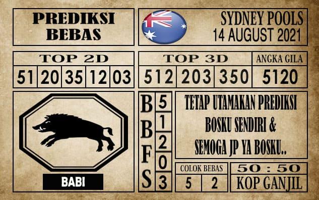 Prediksi Sydney Pools Hari Ini 14 Agustus 2021