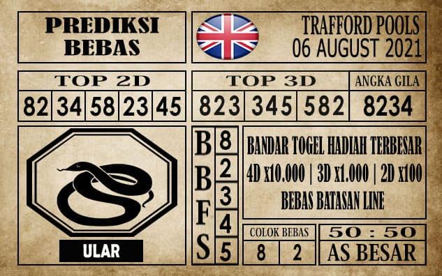 Prediksi Trafford Pools Hari Ini 06 Agustus 2021