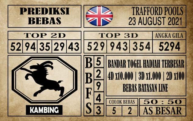 Prediksi Trafford Pools Hari Ini 23 Agustus 2021