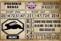 Prediksi Trafford Pools Hari Ini 24 Agustus 2021