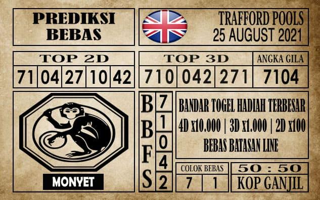 Prediksi Trafford Pools Hari Ini 25 Agustus 2021