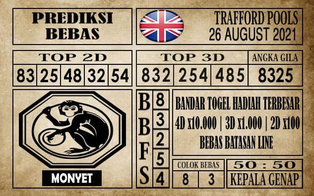Prediksi Trafford Pools Hari Ini 26 Agustus 2021