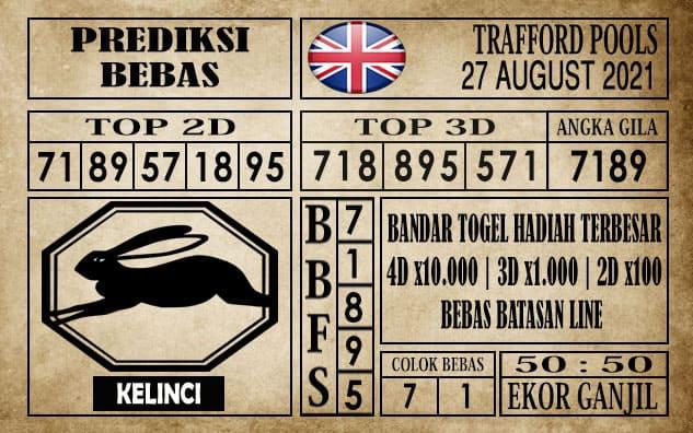 Prediksi Trafford Pools Hari Ini 27 Agustus 2021