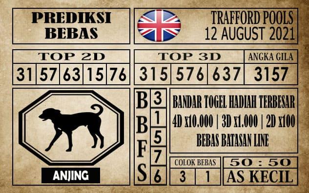 Prediksi Trafford Pools Hari Ini 12 Agustus 2021