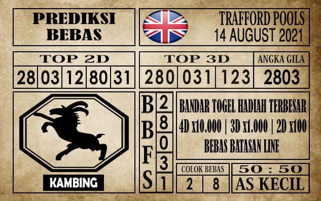 Prediksi Trafford Pools Hari Ini 14 Agustus 2021