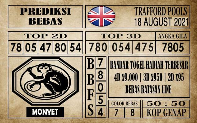 Prediksi Trafford Pools Hari Ini 18 Agustus 2021