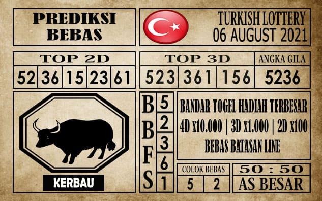 Prediksi Turkish Lottery Hari Ini 06 Agustus 2021
