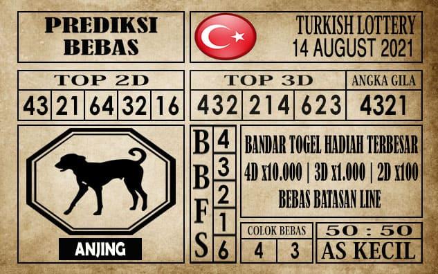 Prediksi Turkish Lottery Hari Ini 14 Agustus 2021