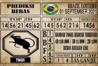 Prediksi Brazil Lottery Hari Ini 01 September 2021